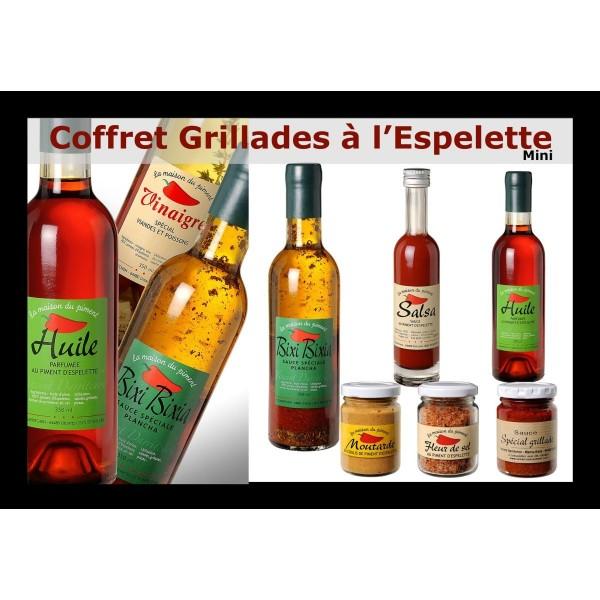 Coffret Grillades et Plancha au Piment d'Espelette