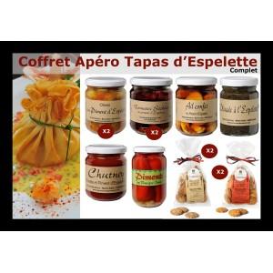 Apéro Tapas au Piment d'Espelette