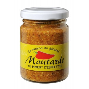 Moutarde au piment d' Espelette 90gr