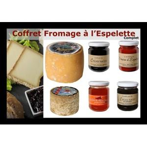 Coffret Fromages et Cerise Basque à l'Espelette