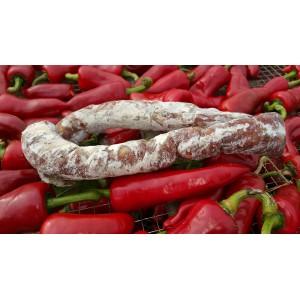 Saucisse sèche au piment d'Espelette 250gr