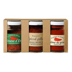 Assortiment de Piments d'Espelette AOP