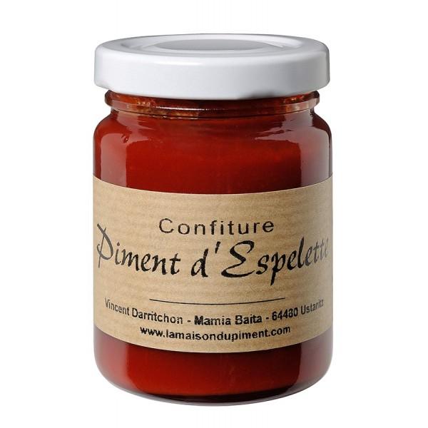 Confiture de piment d' Espelette 100gr