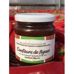 Confiture de figues au piment d'Espelette 250g