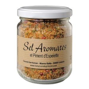 Sel aux aromates et piment d' Espelette