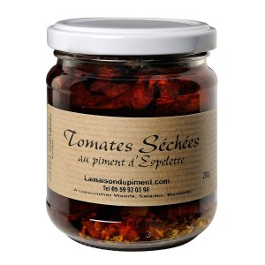 Tomates séchées au piment d' Espelette 185 gr