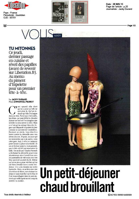 Le Piment d'Espelette par Libération