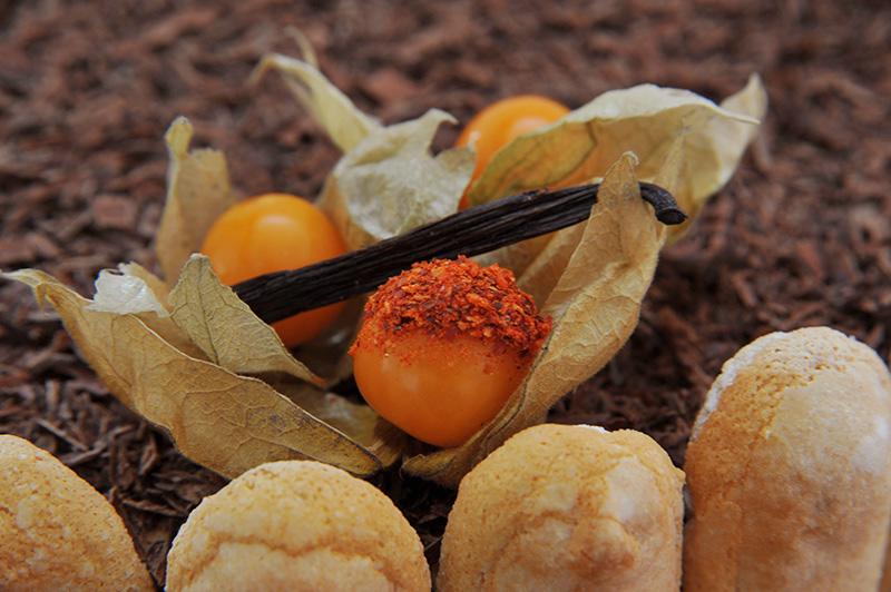Recette - Charlotte au Chocolat et Piment Espelette