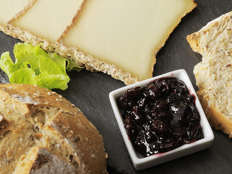 confiture et fromage