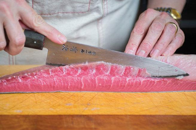 Salade de Poisson Séché aux Agrumes et Fenouil – Recette Japonaise découpe du poisson