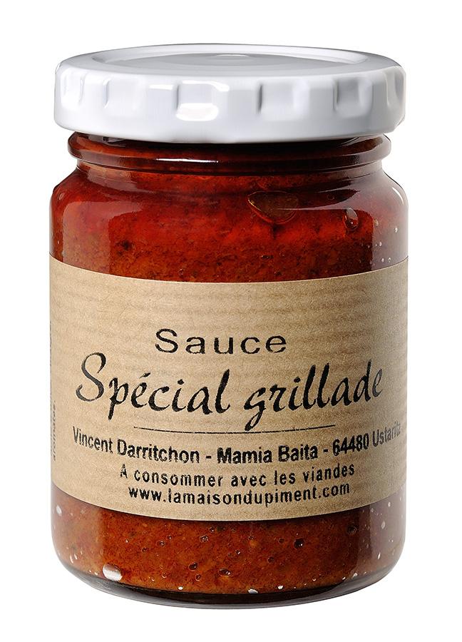 Sauce grillade pour saucisses au piment d'Espelette